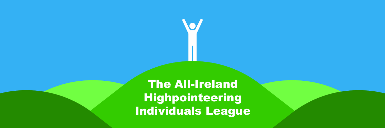 The All-Ireland Highpointeering Individuals League